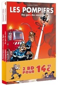 Christophe Cazenove et  Stédo - Les Pompiers  : Pack en 2 volumes - Tome 20, Sauve qui peut ; Les Pompies à travers les âges.