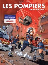 Christophe Cazenove et  Stédo - Les Pompiers Tome 20 : Sauve qui peut - Avec un dossier bonus en partenariat avec les sapeurs-pompiers de France.