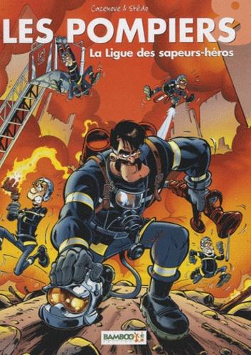 Les Pompiers Tome 8 La ligue des sapeurs-héros -  avec 1 Jeu