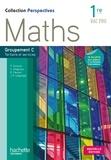 Christophe Chabroux et Paul Couture - Perspectives maths 1re bac pro groupement C Tertiaire et services.