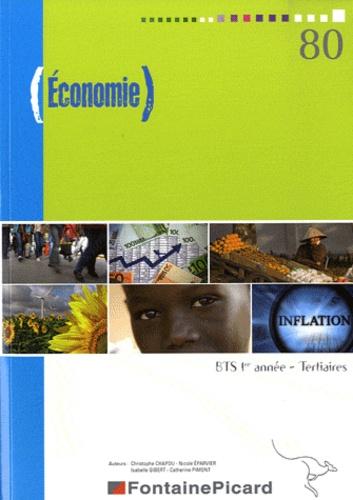 Christophe Chapou et Isabelle Gibert - Economie BTS 1e année Tertiaires.
