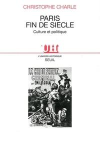 Deedr.fr PARIS FIN DE SIECLE. Culture et politique Image