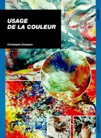 Christophe Chazalon - USAGE DE LA COULEUR.