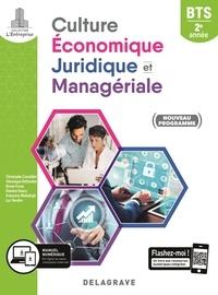 Christophe Ciavaldini et Véronique Deltombe - Culture économique, juridique et managériale BTS 2e année L'entreprise - Pochette élève.