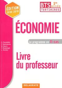 Christophe Ciavaldini et Fanny Guéraische - Economie BTS tertiaires 1re année - Livre du professeur.