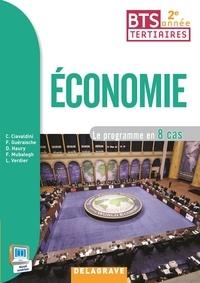 Economie BTS tertiaires 2e année- Le programme en 8 cas - Christophe Ciavaldini |