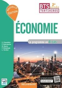 Christophe Ciavaldini et Fanny Guéraische - Economie BTS tertiaires 2e année - Le programme en 8 cas.