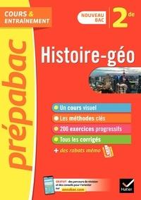 Christophe Clavel et Cécile Gaillard - Histoire-géographie 2de - Prépabac - nouveau programme de Seconde (2020-2021).
