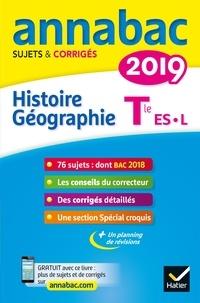 Christophe Clavel et Jean-François Lecaillon - Histoire-Géographie Tle séries L, ES - Sujets et corrigés.