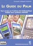 Christophe Cordonnier et Magalie Cordonnier - Guide du Palm.