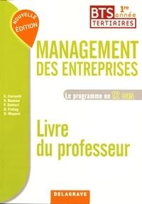 Management des entreprises BTS tertiaires 1re année Le programme en 12 cas - Livre du professeur.pdf