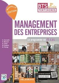 Management des entreprises BTS tertiaires 2e année- Le programme en 11 cas - Christophe Cornolti pdf epub