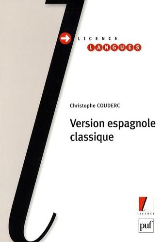 Christophe Couderc - Version espagnole classique.