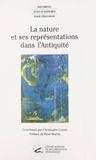 Christophe Cusset et Olivier Deslondes - La Nature et ses représentations dans l'Antiquité - Actes du colloque, École normale supérieure de Fontenay-Saint-Cloud, 24-25 oct. 1996.