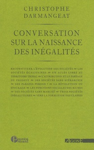 Christophe Darmangeat - Conversation sur la naissance des inégalités.
