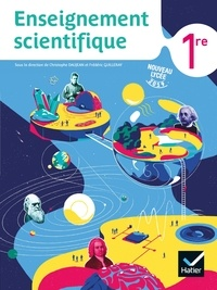 Christophe Daujean et Frédéric Guilleray - Enseignement scientifique 1ère - Livre élève.