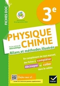 Christophe Daujean - Physique Chimie 3e Fiches doc - Cahier de l'élève.