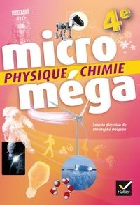 Christophe Daujean - Physique-Chimie 4e microméga.
