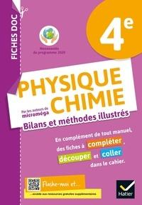 Christophe Daujean et Fabien Alibert - Physique chimie 4e - Bilans et méthodes illustrés - Cahier élève.