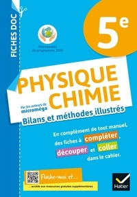 Christophe Daujean - Physique Chimie 5e Fiches doc - Cahier de l'élève.