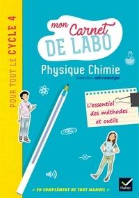 Christophe Daujean et Fabrice Massa - Physique Chimie Cycle 4 - Mon carnet de labo.