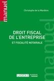 Christophe de La Mardière - Droit fiscal de l'entreprise et fiscalité notariale.