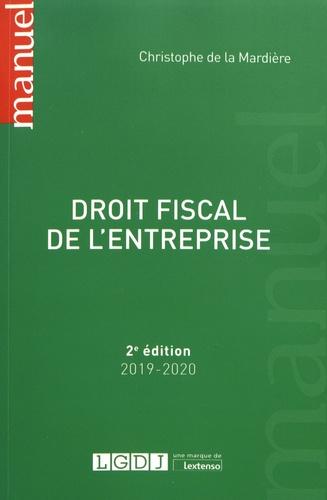 Droit fiscal de l'entreprise  Edition 2019-2020
