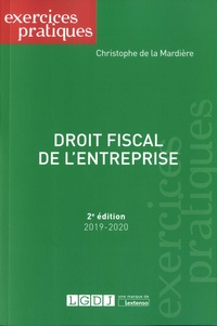Christophe de La Mardière - Droit fiscal de l'entreprise.