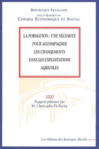 Christophe De Rycke et  Conseil Economique et Social - .