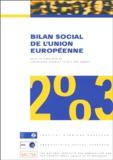 Christophe Degryse et Philippe Pochet - Bilan social de l'Union européenne 2003 - Cinquième rapport annuel.