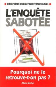 Christophe Deloire et Christophe Dubois - .