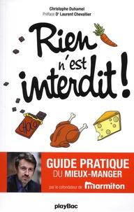 Christophe Duhamel - Rien n'est interdit !.