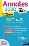 Christophe Durand et Frédéric Lalevée - SVT Tle S spécifique + spécialité - Sujets & corrigés.