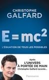 Christophe Galfard - E = mc².