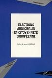Christophe Geslot - Elections municipales et citoyenneté européenne - L'article 88-3 de la constitution du 4 octobre 1958.
