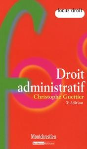 Christophe Guettier - Droit administratif.