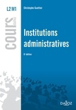 Christophe Guettier - Institutions administratives L2 M1.