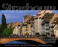 Christophe Hamm - Strasbourg - De l'Alsace à l'Europe, édition français-anglais-allemand.