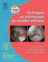 Techniques en arthroscopie du membre inférieur.pdf