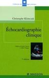 Christophe Klimczak - Echocardiographie clinique.