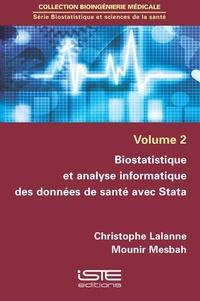Biostatistique et sciences de la santé - Volume 2, Biostatistique et analyse informatique des données de santé avec Stata.pdf