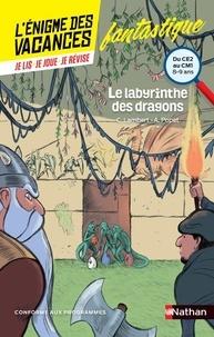 Christophe Lambert et Anne Popet - Le labyrinthe des dragons - Du CE2 au CM1.