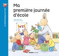 Christophe Le Masne et Marie-Aline Bawin - La bibliothèque de Tom  : Ma première journée d'école.