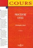 Christophe Lefort - Procédure civile.