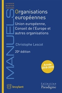 Organisations européennes - Union européenne, Conseil de lEurope et autres organisations.pdf