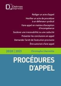 Christophe Lhermitte - Procédures d'appel.