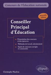 Christophe Maufras - Conseiller principal d'éducation - Externe, interne, troisième concours.