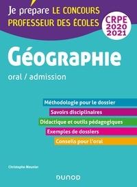 Christophe Meunier - Géographie - Professeur des écoles - oral / admission - CRPE 2020-2021.