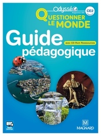 Christophe Meunier et Valérie Carnoy - Questionner le monde CE2 - Guide pédagogique. 1 Cédérom