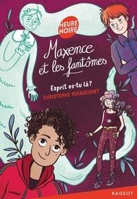 Christophe Miraucourt - Maxence et les fantômes - Esprit es-tu là ?.